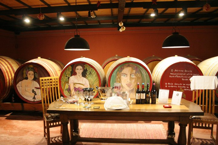 Evia Private Wine Tour with Spa Treatment