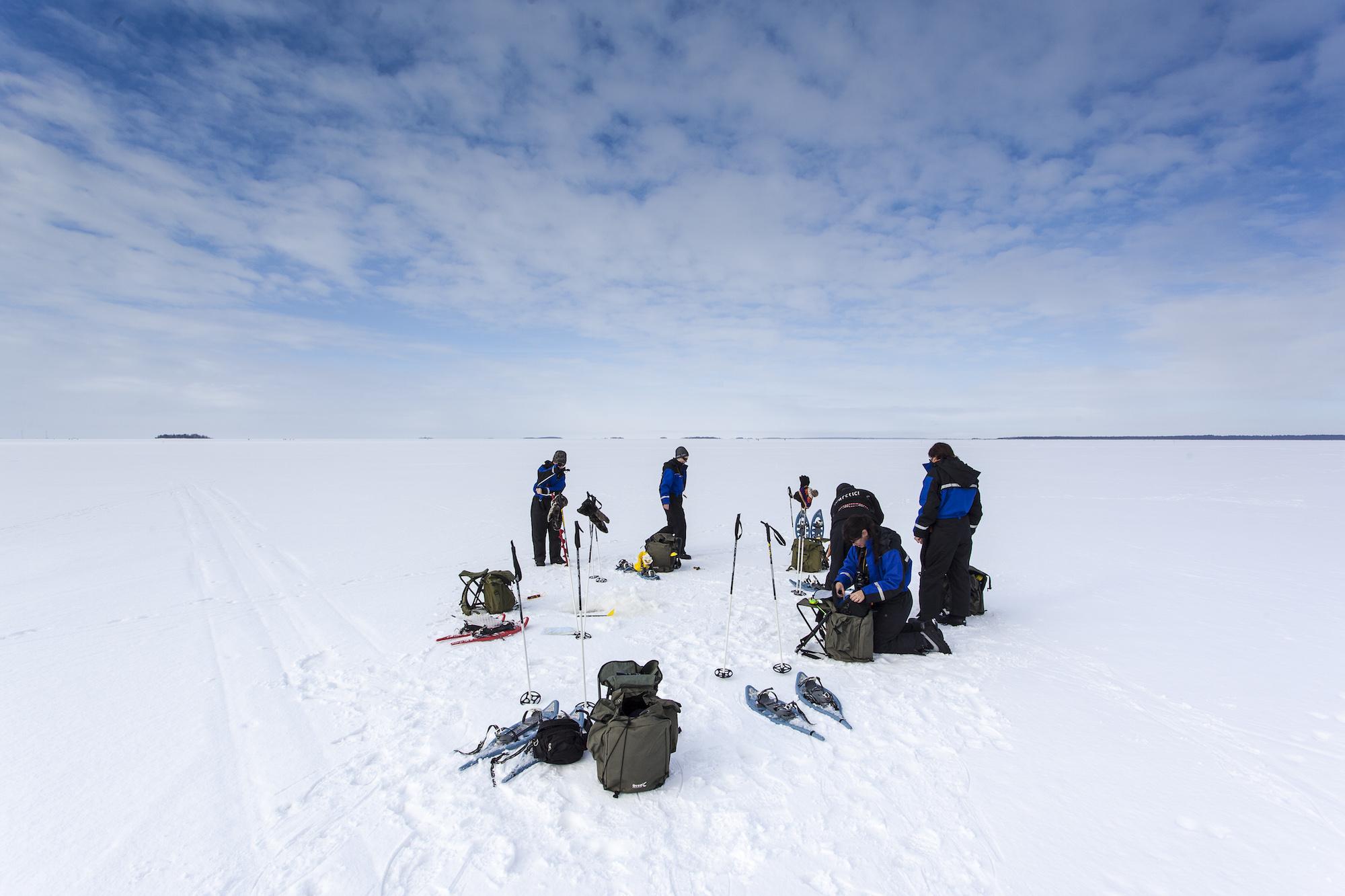 Experience Lapland - Ice Fishing