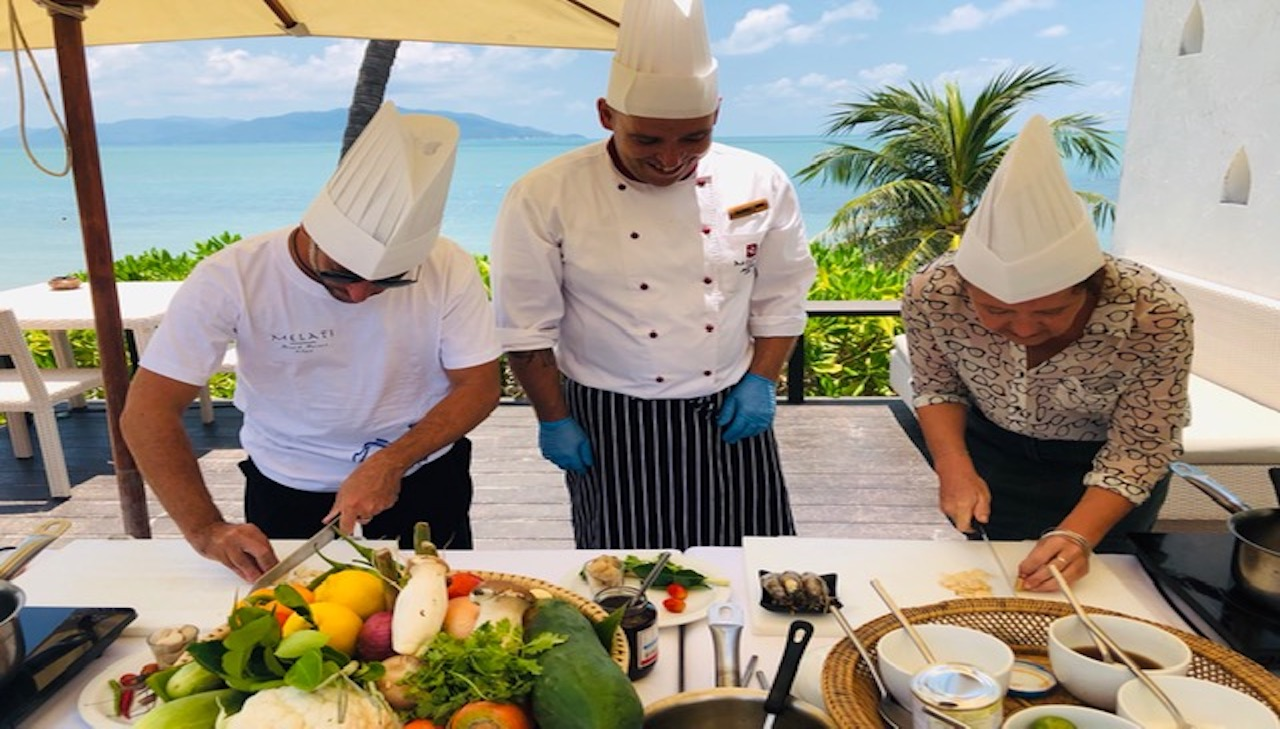 Thai Cooking Class at Melati Beach Resort & Spa