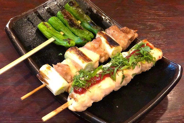 Evening Tokyo Walking Food Tour of Shimbashi