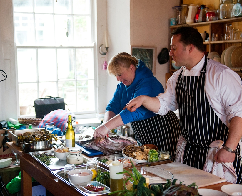Traditional Irish cookery demo in Connemara. Galway. Private guided.