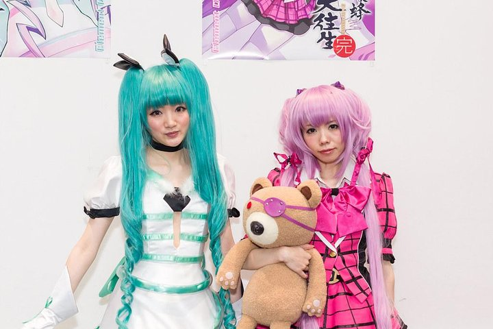 Full-Day Akihabara Tour for Anime Fans PLUS food & drinks.