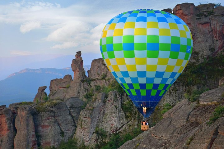 Enjoy a hot air balloon ride