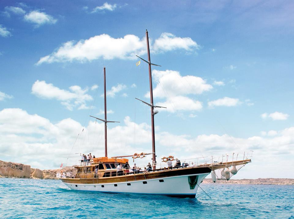 Round Malta Cruise On A Turkish Gullet (Full Day, including Lunch)