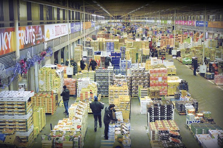 RUNGIS: Amazing visit - the biggest wholesale market in the world