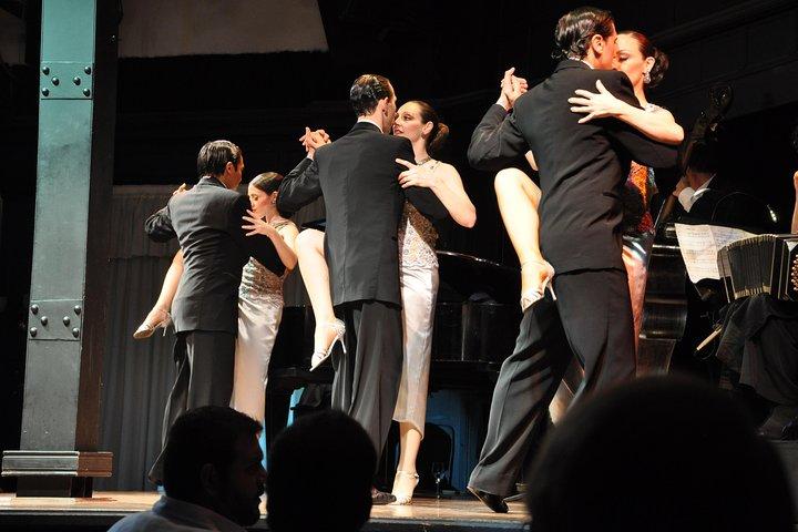 Buenos Aires Shore Excursion: El Querandi Tango and Dinner Show