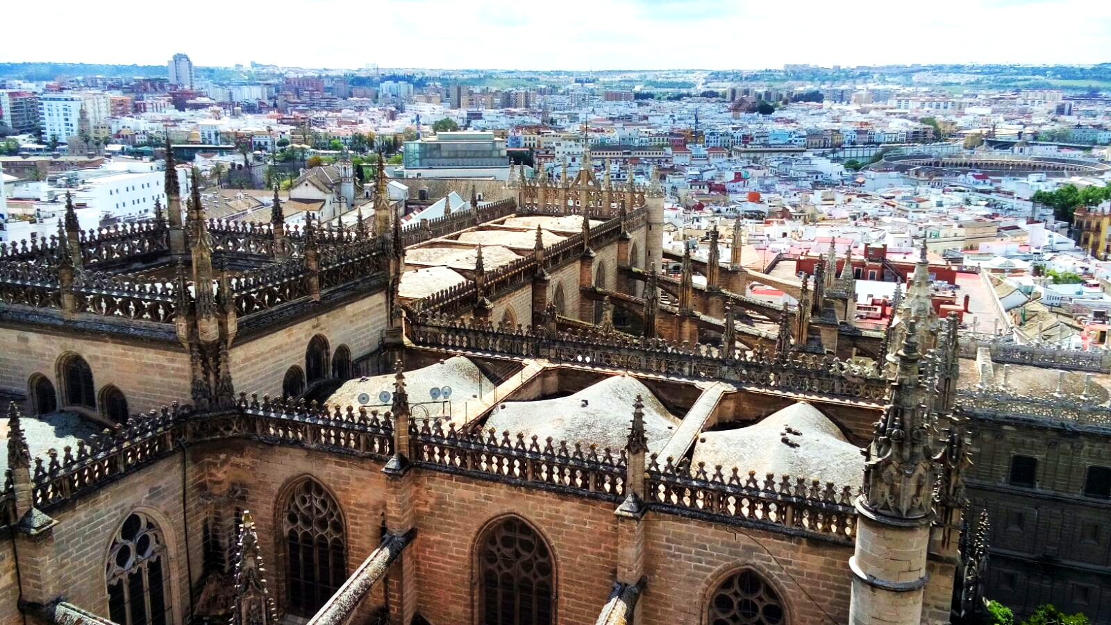 View from  Seville Cathedral