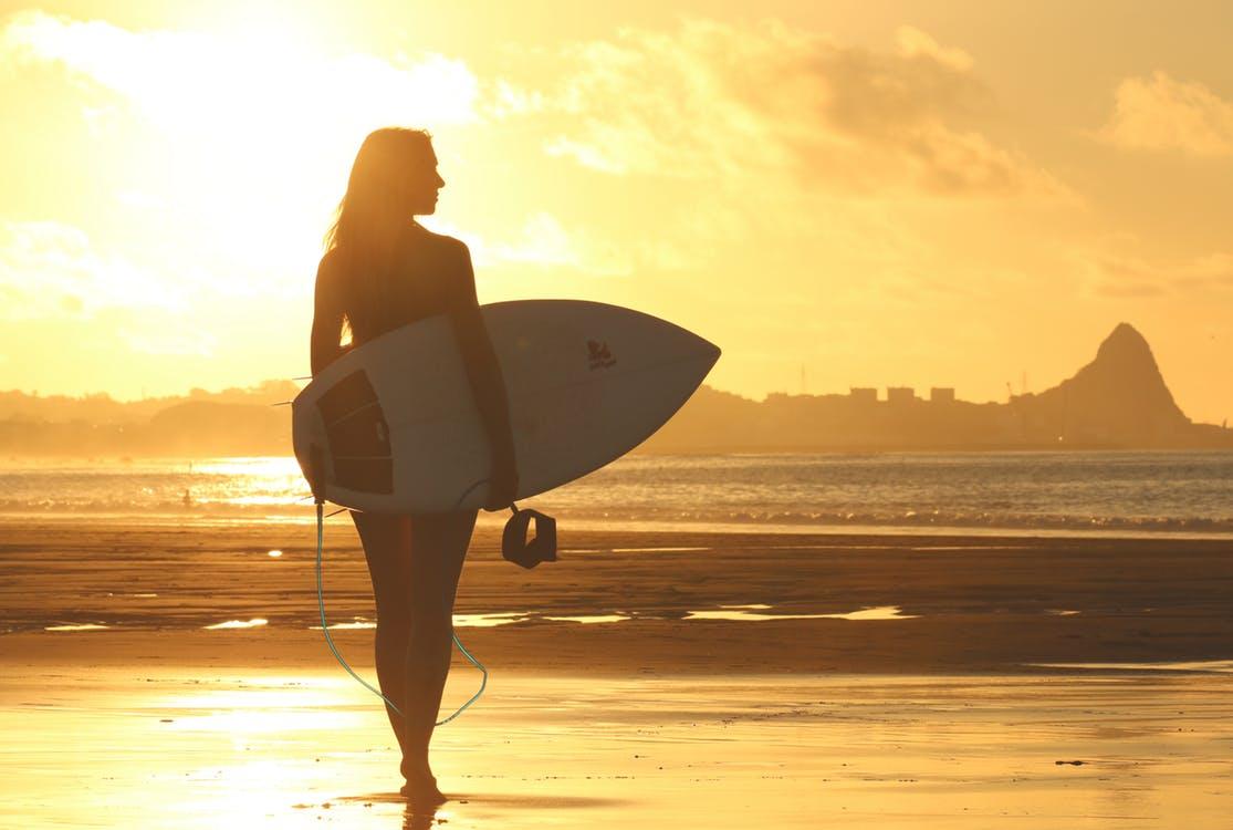 Go surfing in the beaches around Lisbon