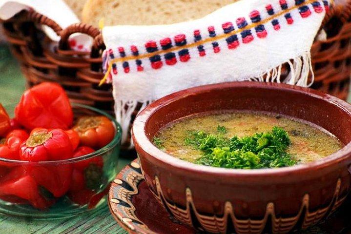Traditional Bulgarian lunch in Koprivshtitsa