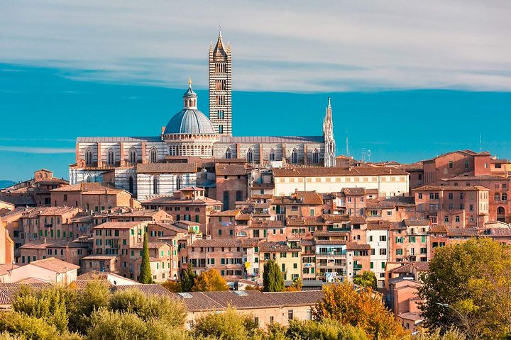 Private Full-Day Siena San Gimignano and Chianti from Florence