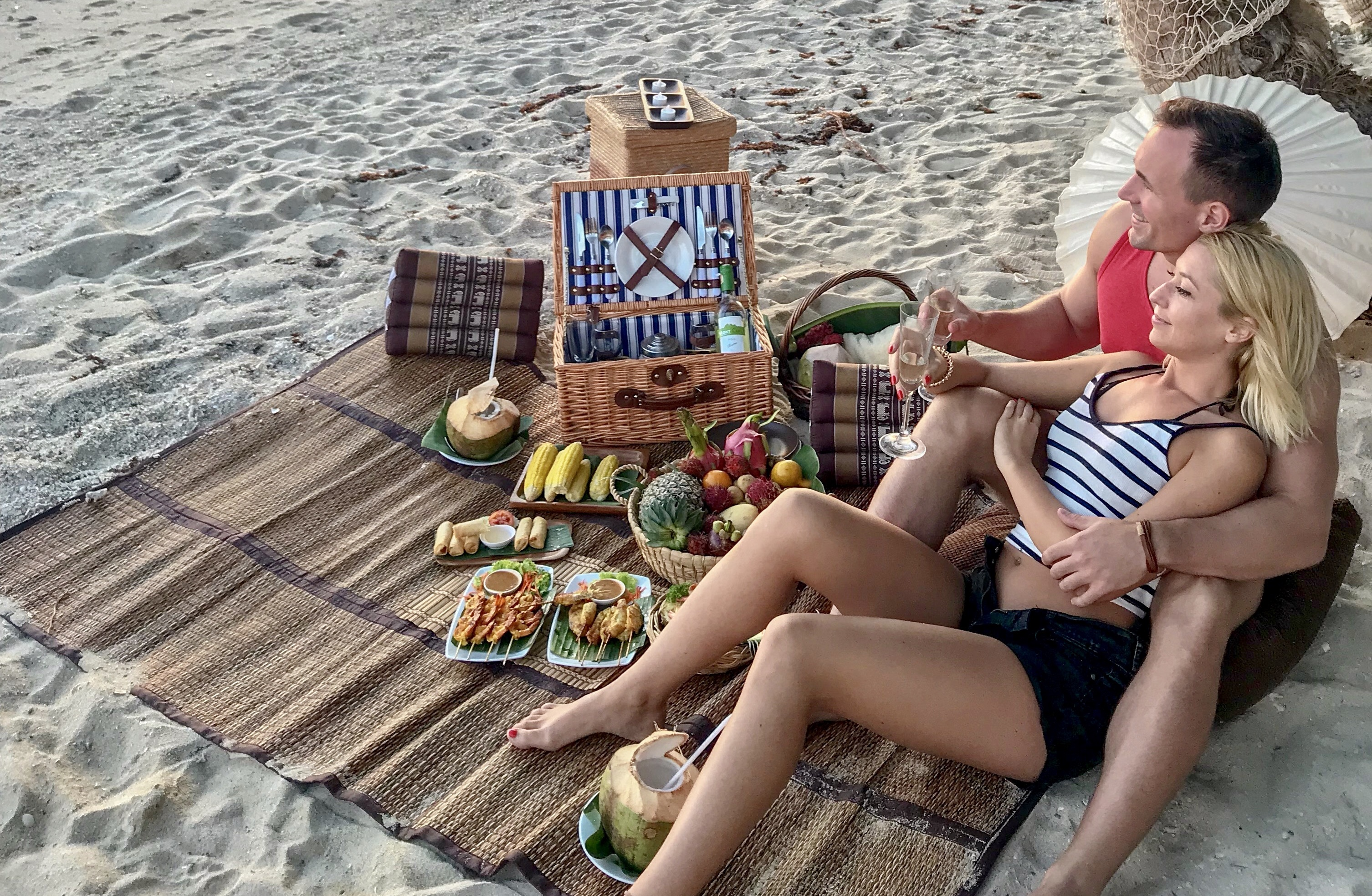 Gourmet Picnic on a Private Beach