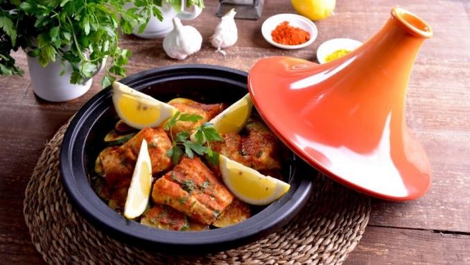 Taste the Essaouira specialty fish dish