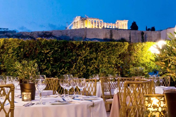 Romantic Dinner with Acropolis View