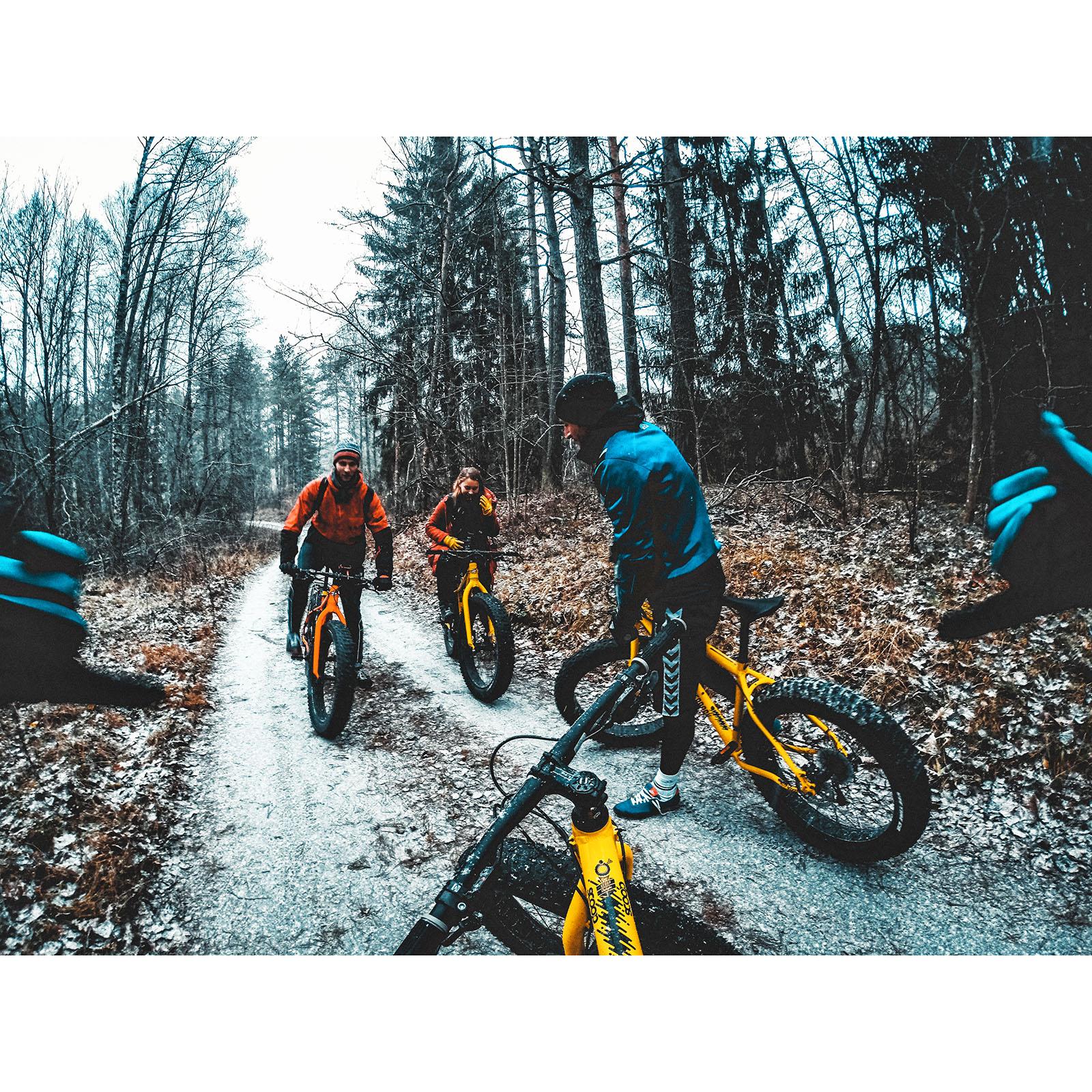 Enjoy fat biking in amazing surroundings
