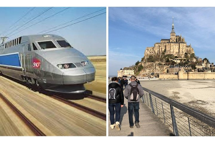 MONT SAINT-MICHEL : Best offer by High Speed Train (Day-trip from Paris)