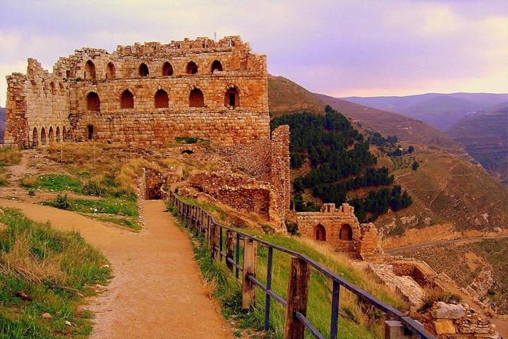 Kerak Castle - Crusader castle