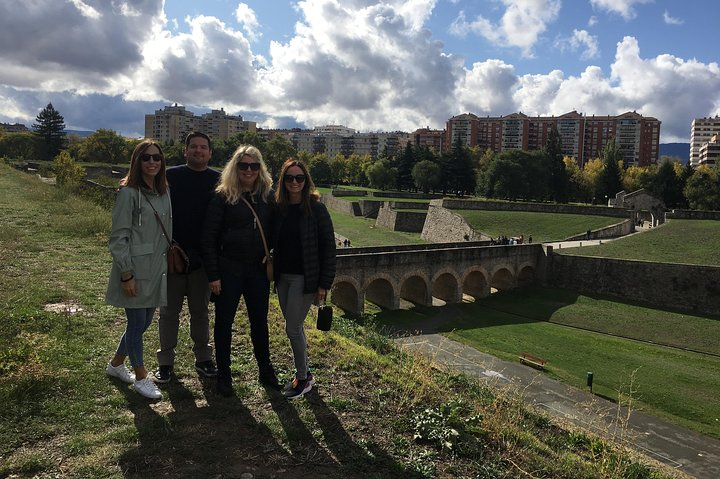 Private tour of Pamplona from San Sebastian with 3 course meal