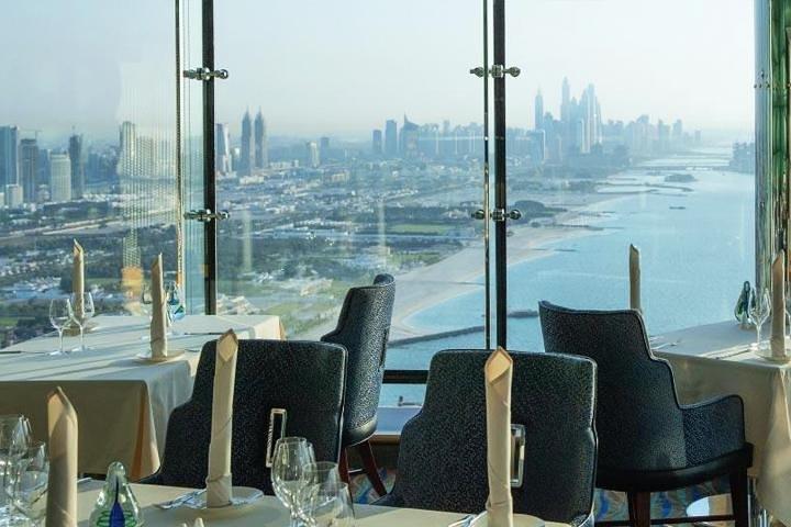 Lunch in Al Muntaha Restaurant - Burj Al Arab