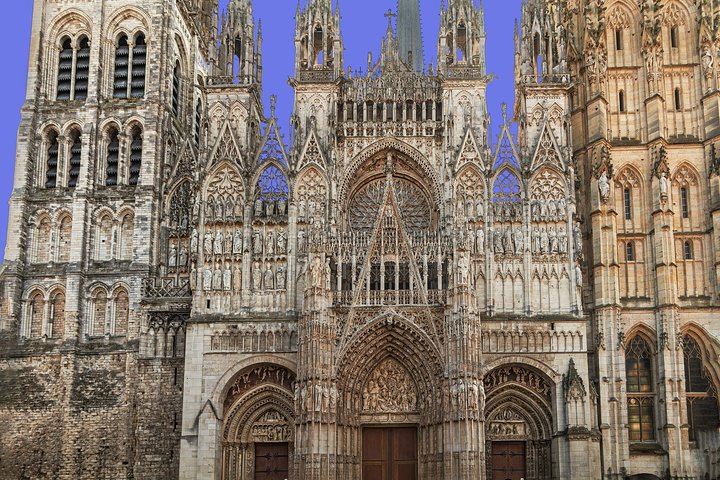 THE AGE OF THE CATHEDRALS (Rouen, Amiens, Beauvais) : day-trip (lunch included)