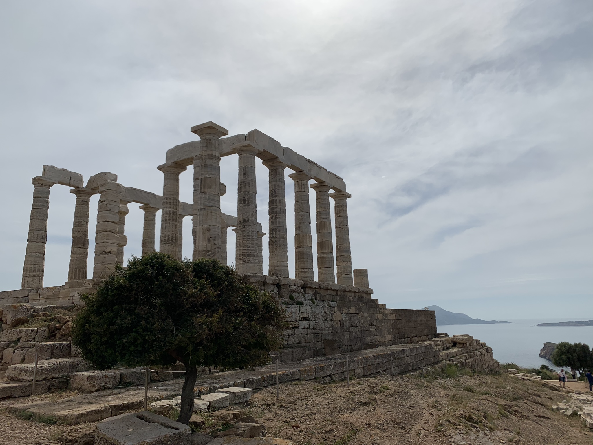 Temple of Poseidon with Lunch Private Tour