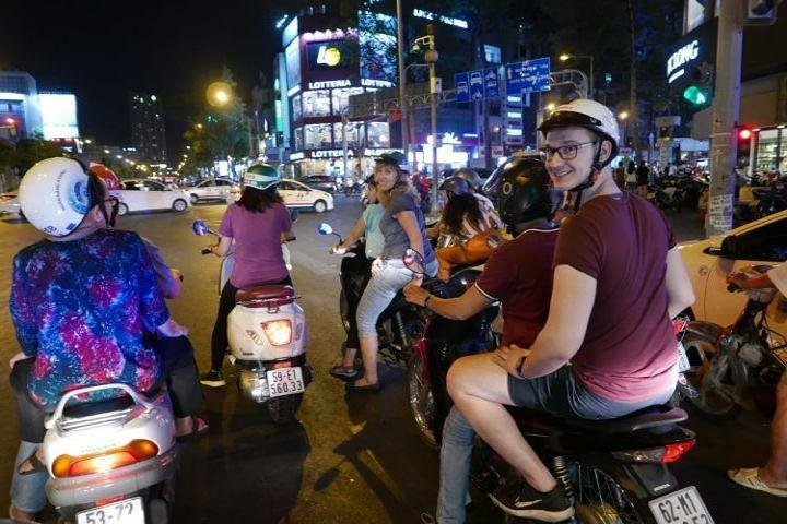 Wonderful Trip HCM Foodie Evening Life Style By Scooter