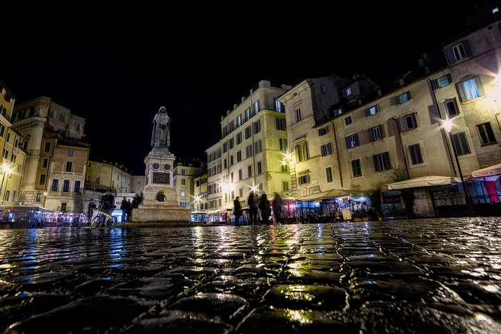 Walk and Taste - Arts and Food in Rome by night