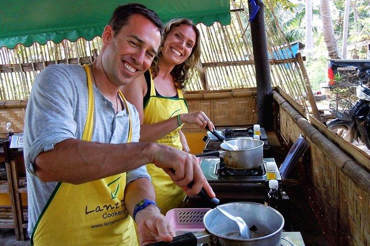 Cooking Class and Market Tour at Lanta Thai Cookery School on Koh Lanta
