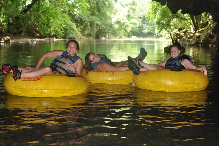 Buddy up for a Cave Tubing Experience