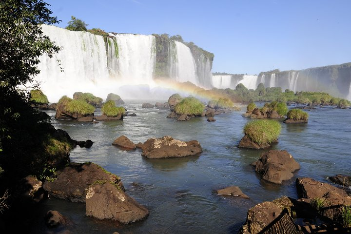 The Brazilian side of Iguazu's Falls