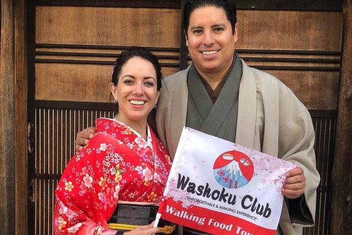 Full-day Asakusa Sightseeing: Kimono Experience, food + drink