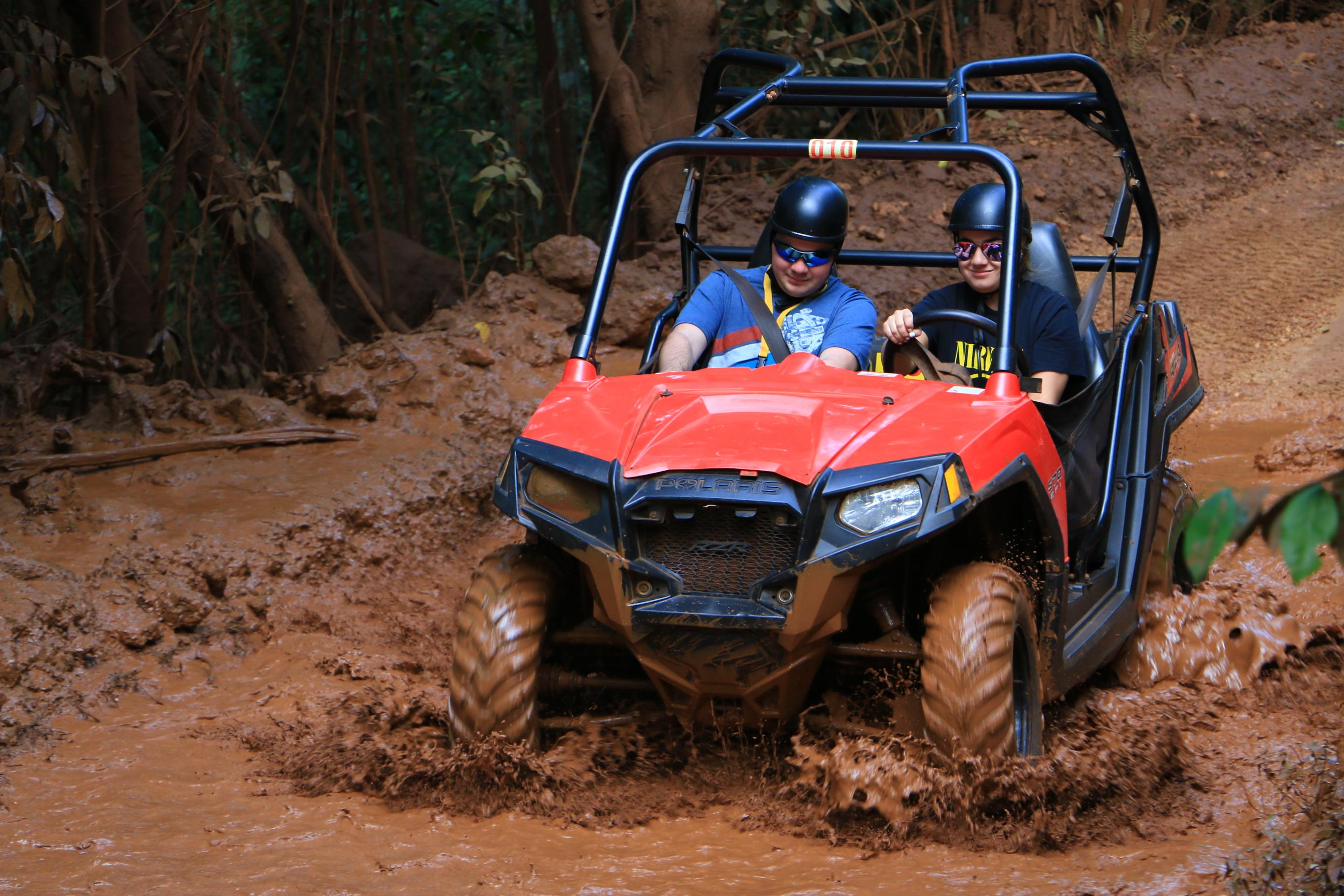 Enjoy a muddy ride