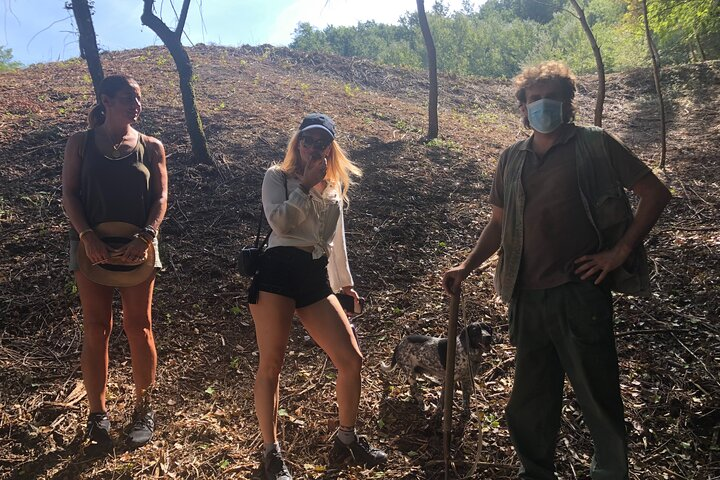 Truffle Hunting with Brunello Wine Lunch