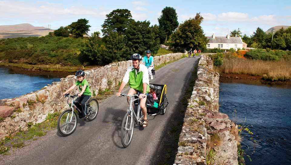 Enjoy cycling on the Great Western Way