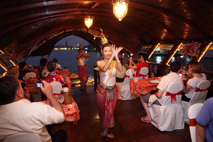 Loy Nava Dinner Cruise by Antique Rice Barge