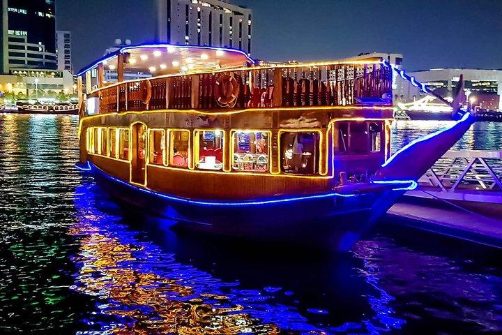 Dhow Cruise Dinner at Dubai Creek
