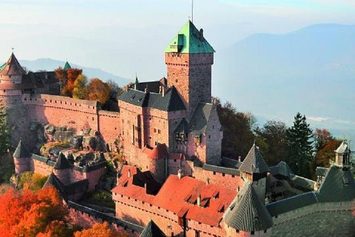 ALSACE: HAUT-KOENIGSBURG CASTLE and STRASBOURG (Day trip from PARIS by TGV)