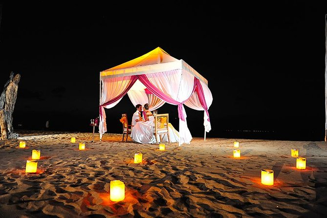 Vegetarian Romantic Dinner Bali with Tent