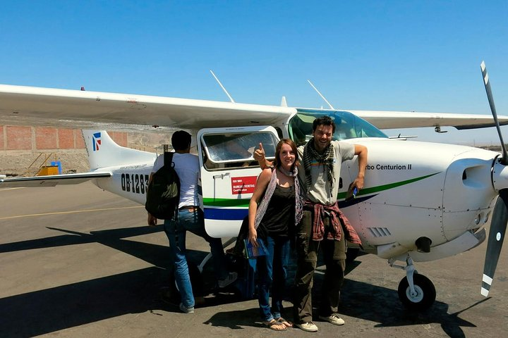 Mysterious Nazca Lines, Overflight from Ica, Huacachina Oasis & Wine Tour!