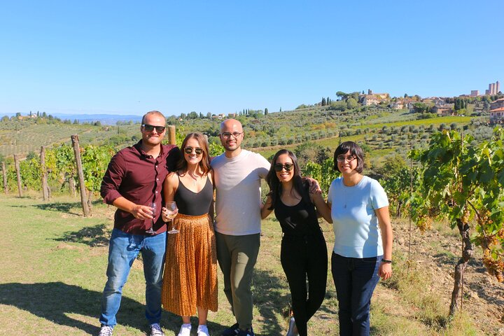 Tuscan Countryside Outing With Chianti Wine Tasting And San Gimignano