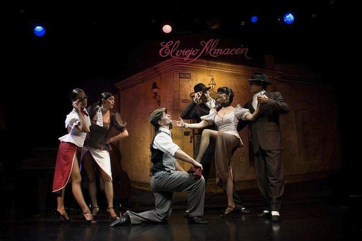 Buenos Aires Shore Excursion: El Viejo Almacen Dinner and Tango Show