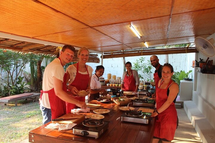Thai Cooking Class with Local Market Tour by Smiley Cook in Koh Samui
