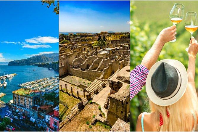Sorrento-Herculaneum-WineTasting (Full Day 8h)