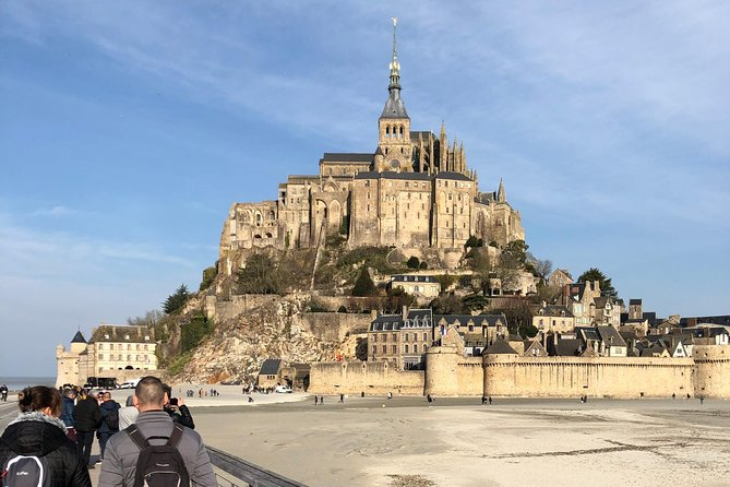 Mont Saint Michel by High speed train (TGV) & lunch overlooking the monument