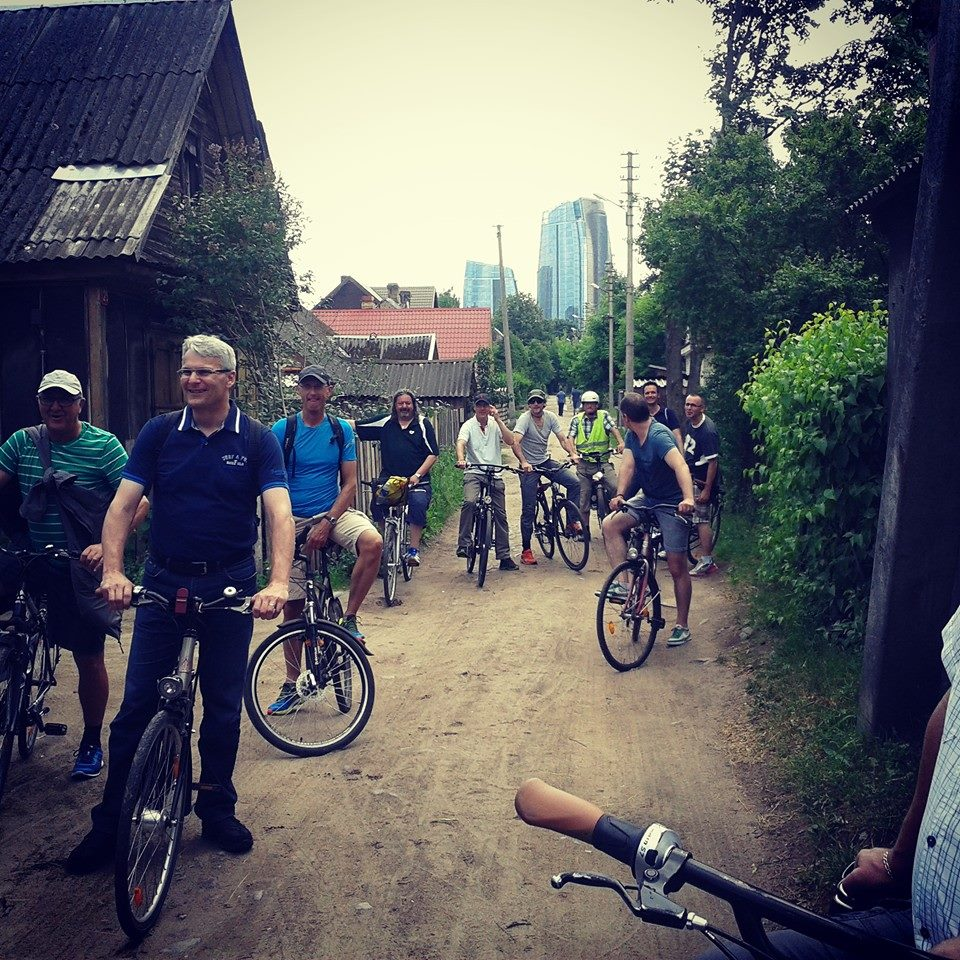 Enjoy cycling in the city
