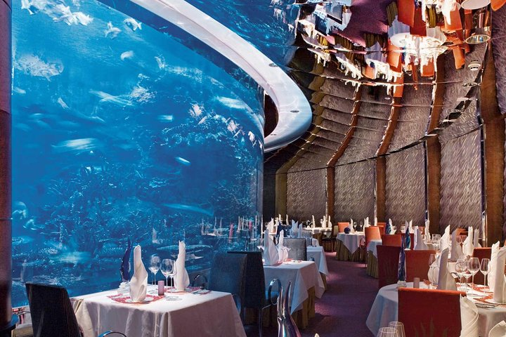 Culinary Flight Dinner at Burj Al Arab