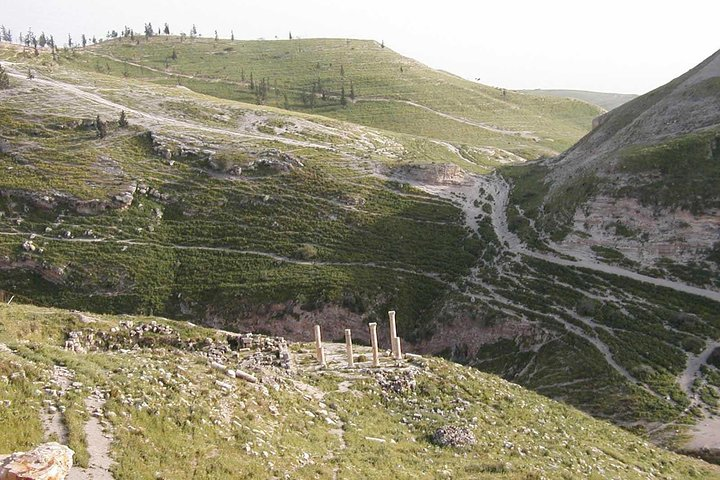 Pella ruins in the Jordan Valley