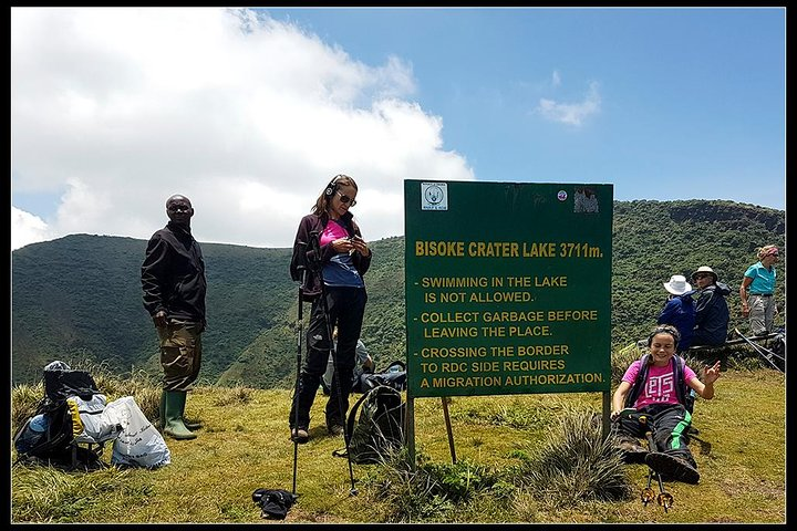 Hike to Bisoke Crater