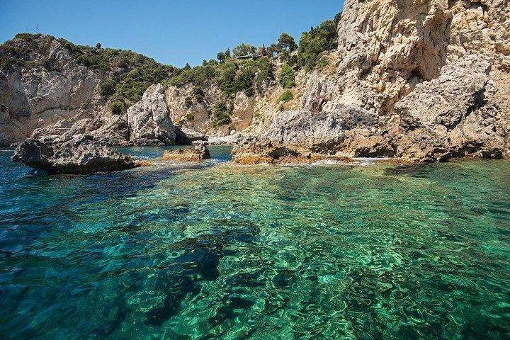 Royalty Private tour to Paleokastritsa & Wine tasting from Corfu