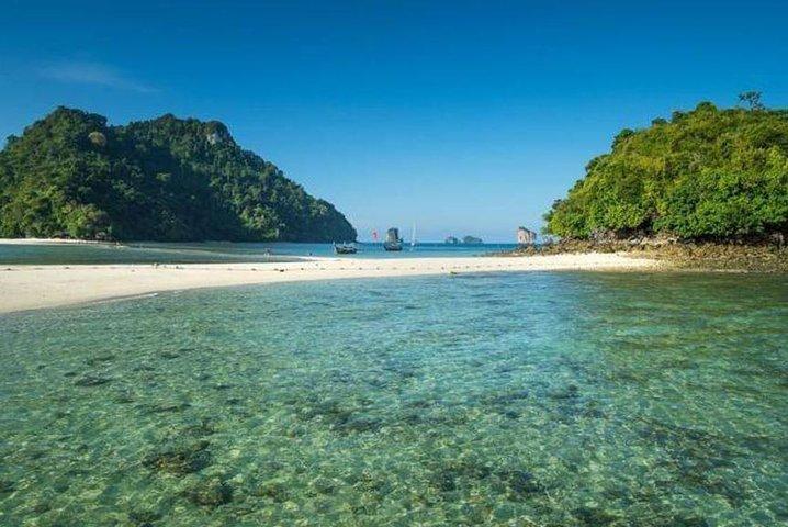 Krabi 7 Islands Sunset and Bioluminescence Tour Include BBQ Dinner