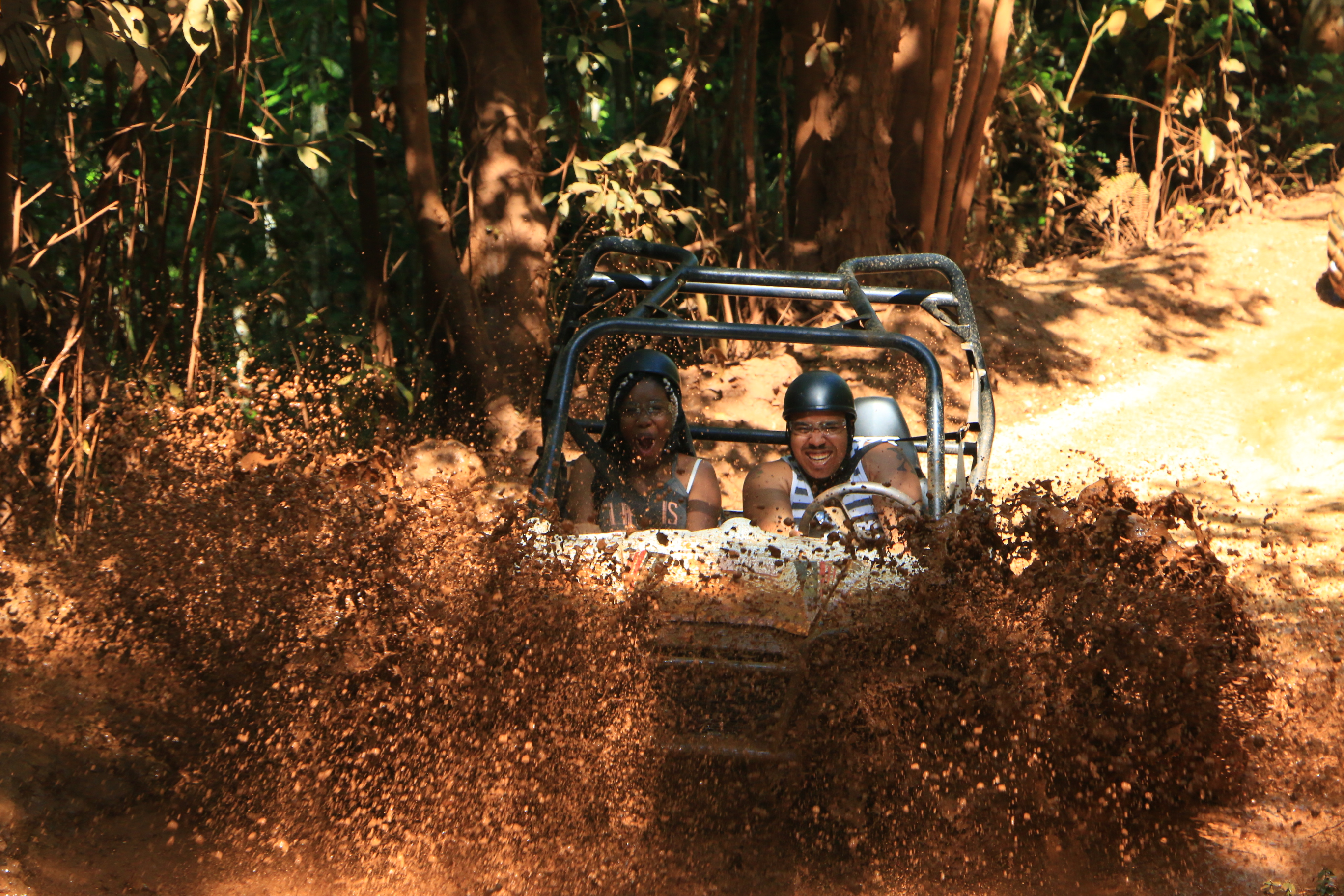 Throw some dirt on this ride